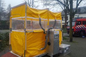 CBRN decontaminatiesysteem van IMG Europe