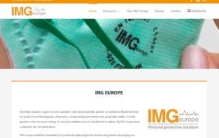 Nieuwe website IMG Europe