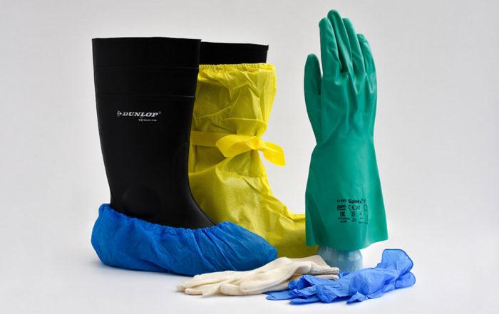 Beschermende kleding van IMG Europe - laarzen, handschoenen