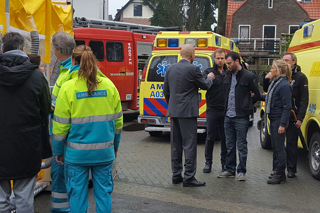 Recordings Murder woman with IMG Europe's decontamination unit