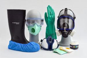 Persoonlijke beschermingsmiddelen van IMG Europe