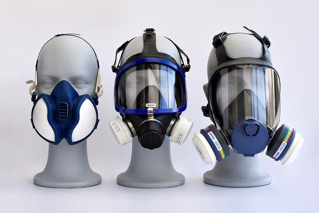 Volgelaatsmasker en halfgelaatsmasker van IMG Europe