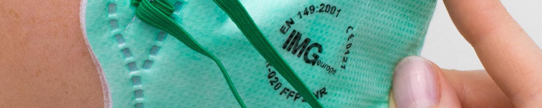 FFP adembeschermingsmasker van IMG Europe