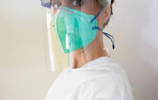 COVID-19 Beschermende Face Shield